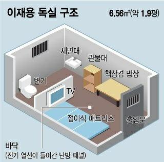'한국 최고 부자' 이재용 교도소 독실 근황.jpg | 인스티즈