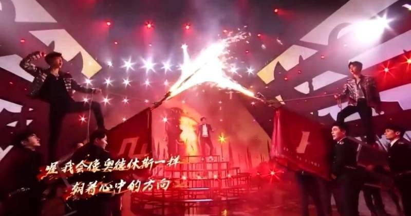 더보이즈 무대 표절한 중국 무대.jpg | 인스티즈