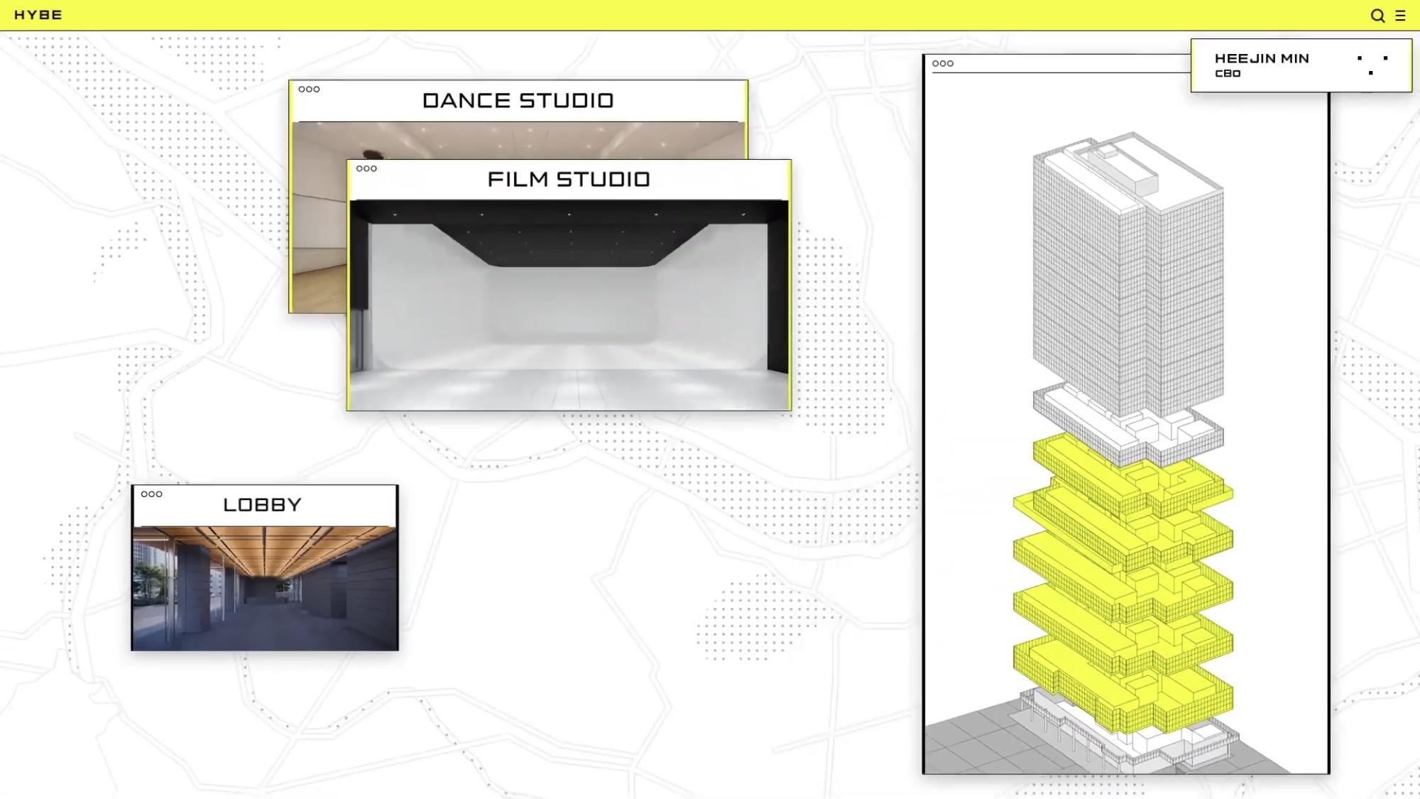 [정보/소식] 빅히트 신사옥 2층~6층 안무연습실, 스튜디오 등 레이블 별로 마련 | 인스티즈
