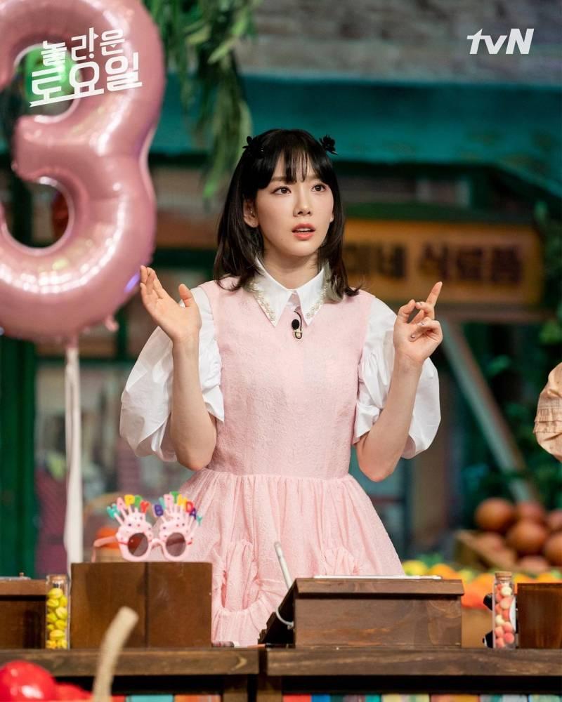 3일(토), 💖소녀시대 태연 tvN '놀라운토요일-도레미마켓'💖 | 인스티즈