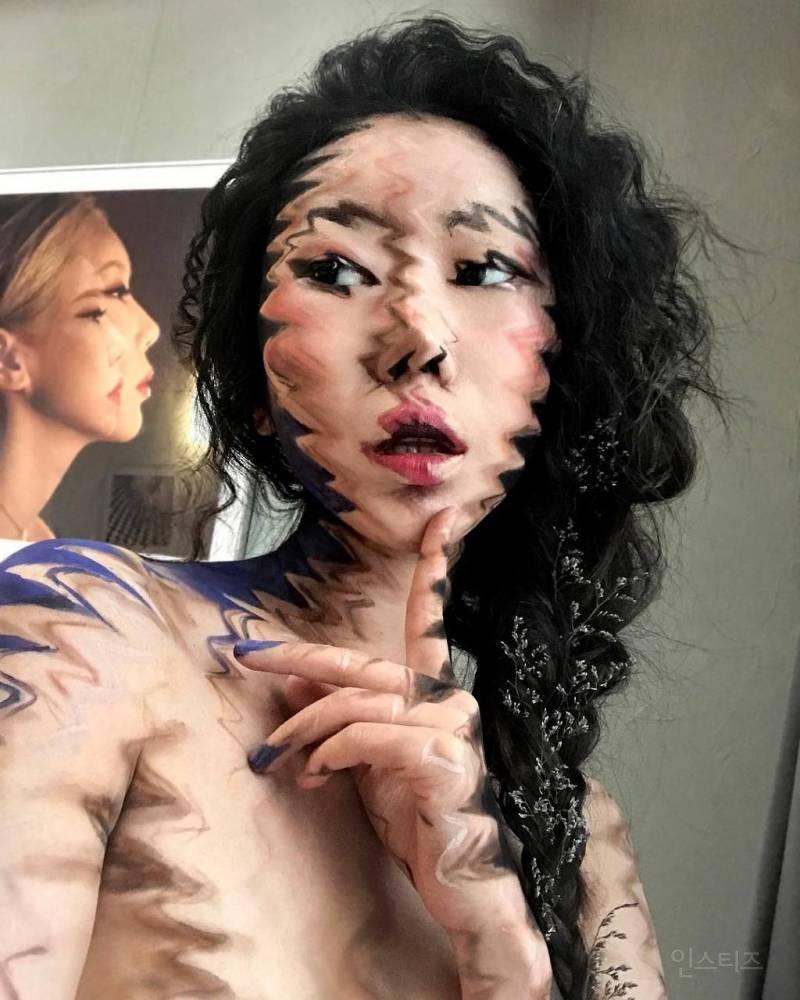 깜놀주의 엘렌쇼까지 출연한 착시 메이크업 아티스트 | 인스티즈