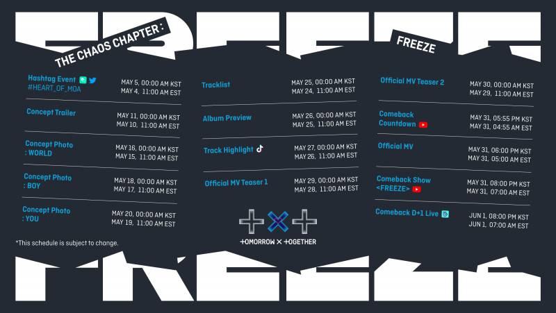 26일(수), 투모로우바이투게더 Album Preview | 인스티즈
