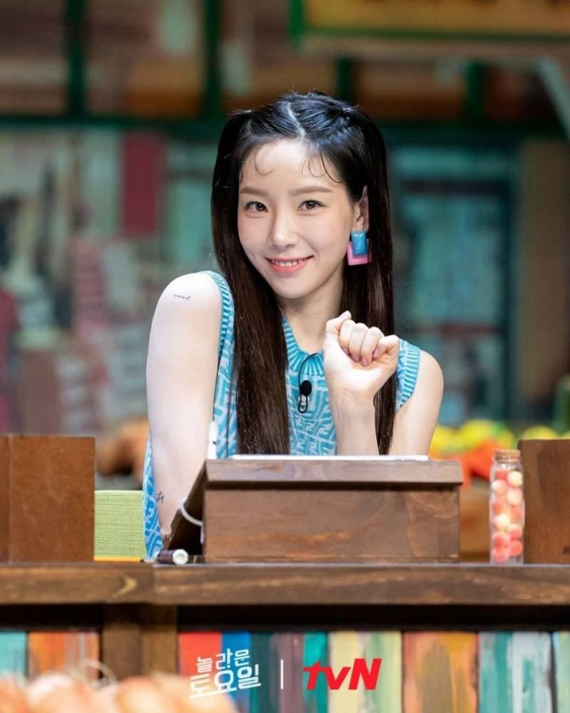 8일(토), 💖소녀시대 태연 tvN '놀라운토요일-도레미마켓'💖 | 인스티즈
