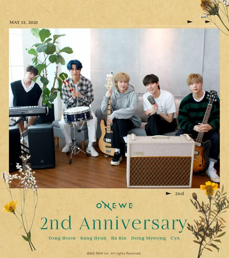 13일(목), 원위 2주년 기념일 ★ONEWE 2ND ANNIVERSARY★   인스티즈