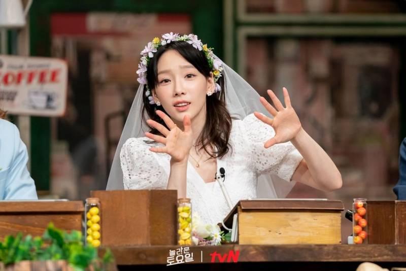 15일(토), 💖소녀시대 태연 tvN '놀라운토요일-도레미마켓'💖   인스티즈