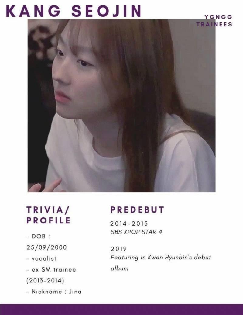 YG 새 걸그룹 멤버 유력 후보로 추정되는 여자 연습생.jpg | 인스티즈