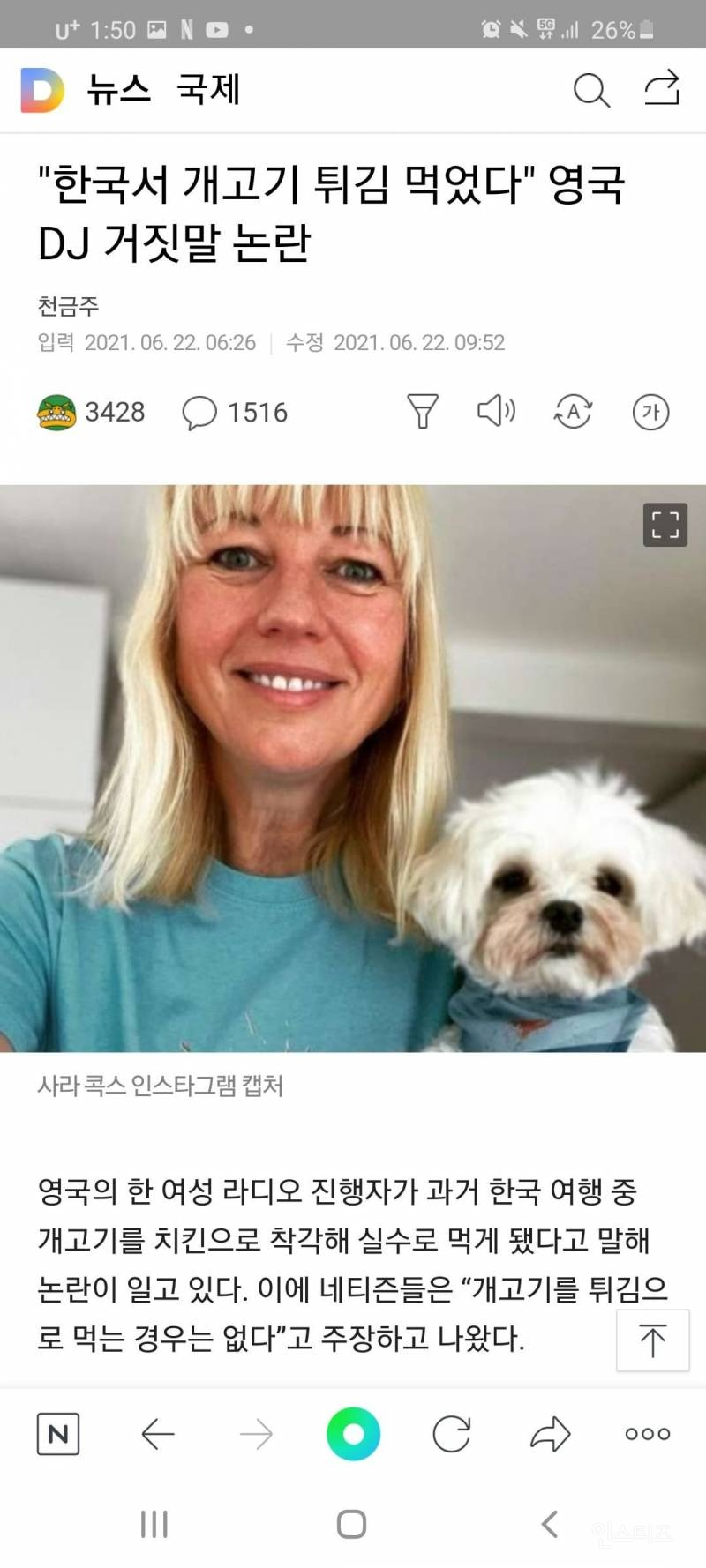 개고기 튀김으로 촉발된 강제 나이인증 현장 | 인스티즈