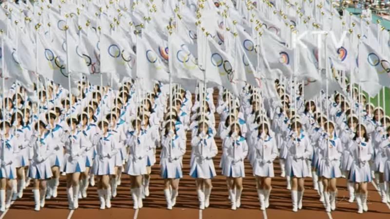 이쯤에서 다시보는 레전드 88년 서울올림픽 개회식.gif | 인스티즈