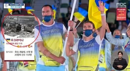 """""""제정신이냐?""""…MBC, 우크라이나 소개에 체르노빌 사진 사용 '비난 폭주'   인스티즈"""