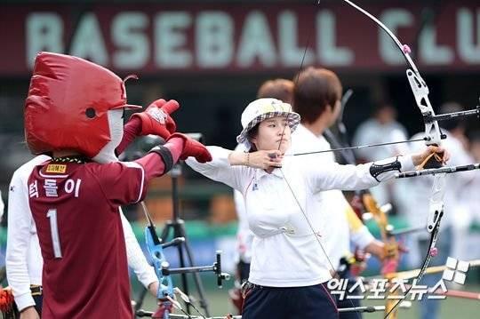 한국양궁 야구장에서 소음 훈련하는게 찐 광기야 | 인스티즈