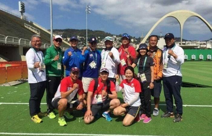 아 웃기다 리우올림픽 양궁 코치진 사진 볼 사람 | 인스티즈
