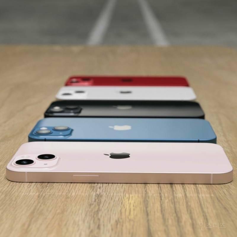 아이폰 13 모든 컬러 실물 사진 공개.jpg | 인스티즈