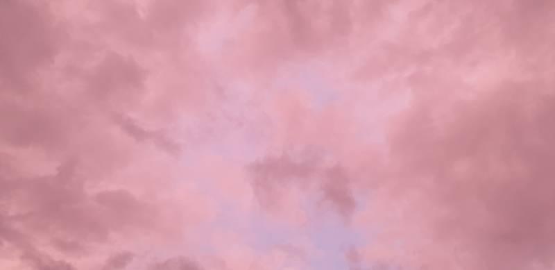 부산 하늘 색깔 진짜 이상해 | 인스티즈