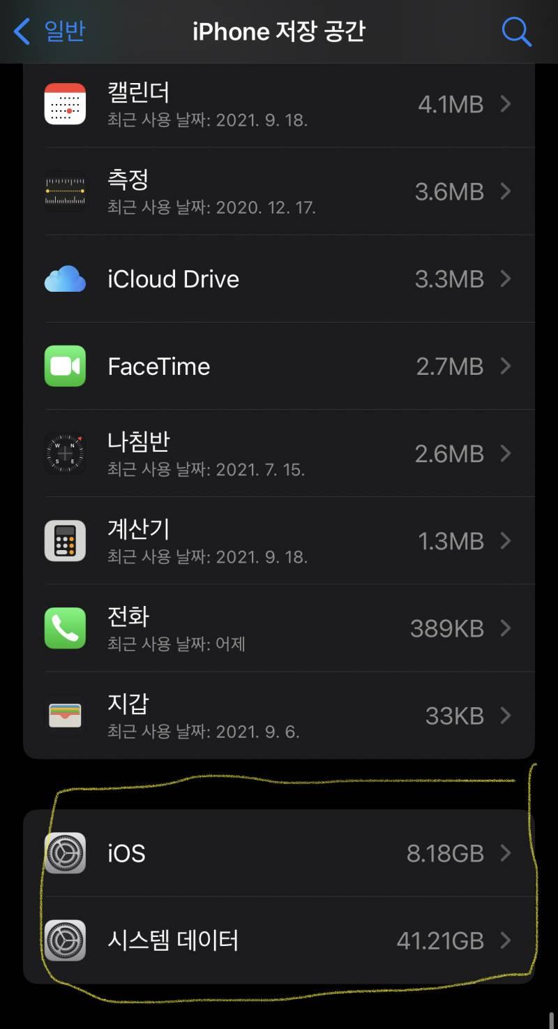 아이폰 64GB 쓰는 익들아... 너네 잘 사용하고 있니? | 인스티즈