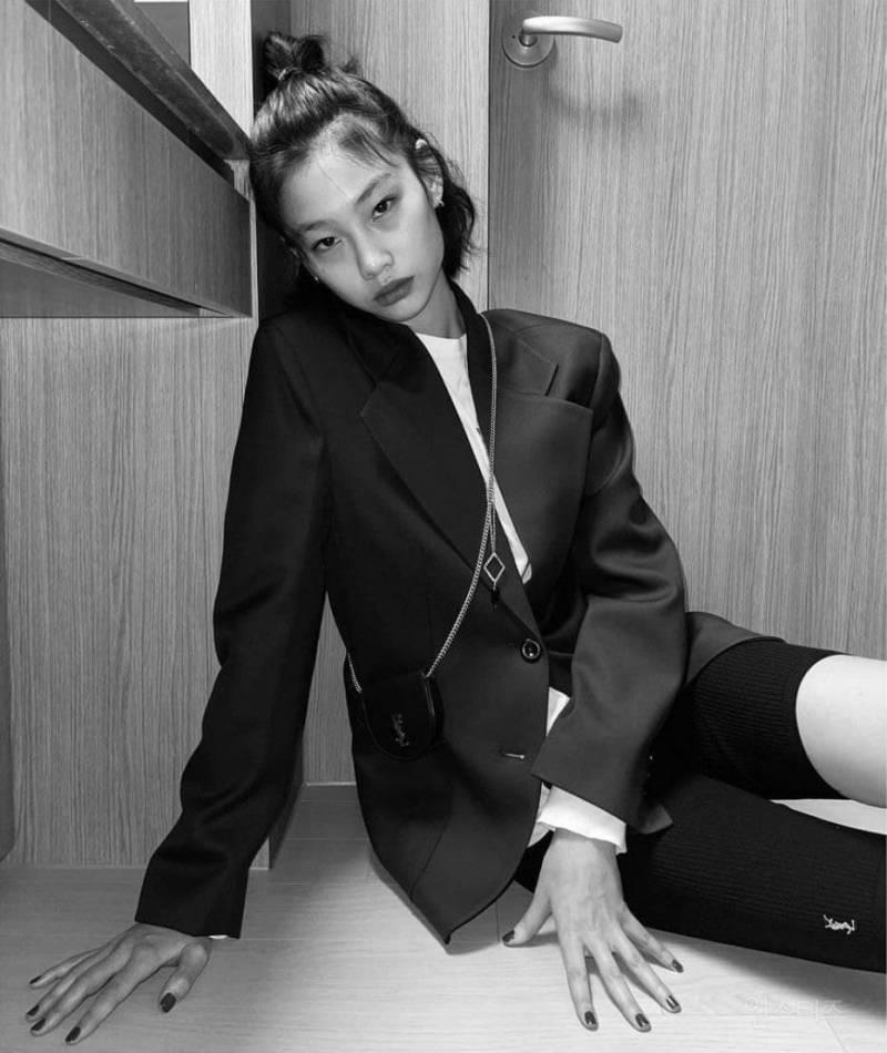 넷플릭스 '오징어 게임'으로 배우 데뷔한 모델 정호연 | 인스티즈