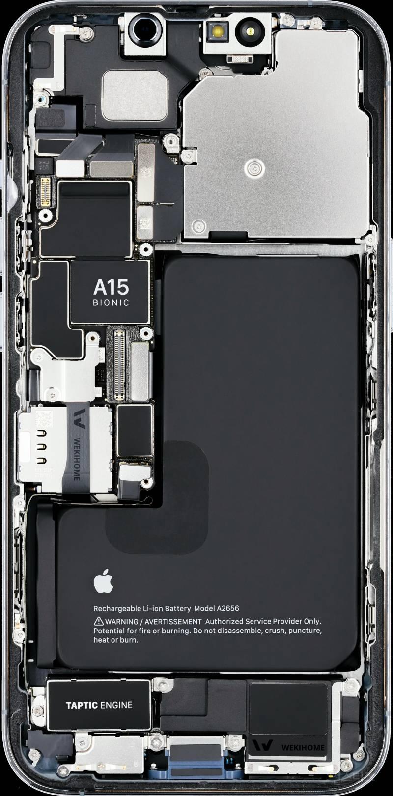 아이폰 13 시리즈 내부 분해.jpg (Feat. 설계변태 애플)   인스티즈