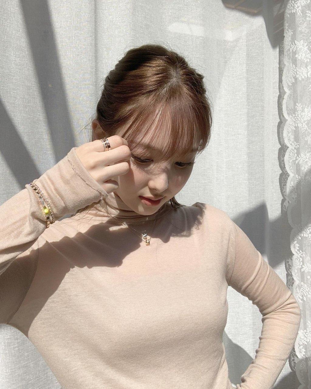 [잡담] 나연이가 버블 유출 허락해줌💙🤍 | 인스티즈