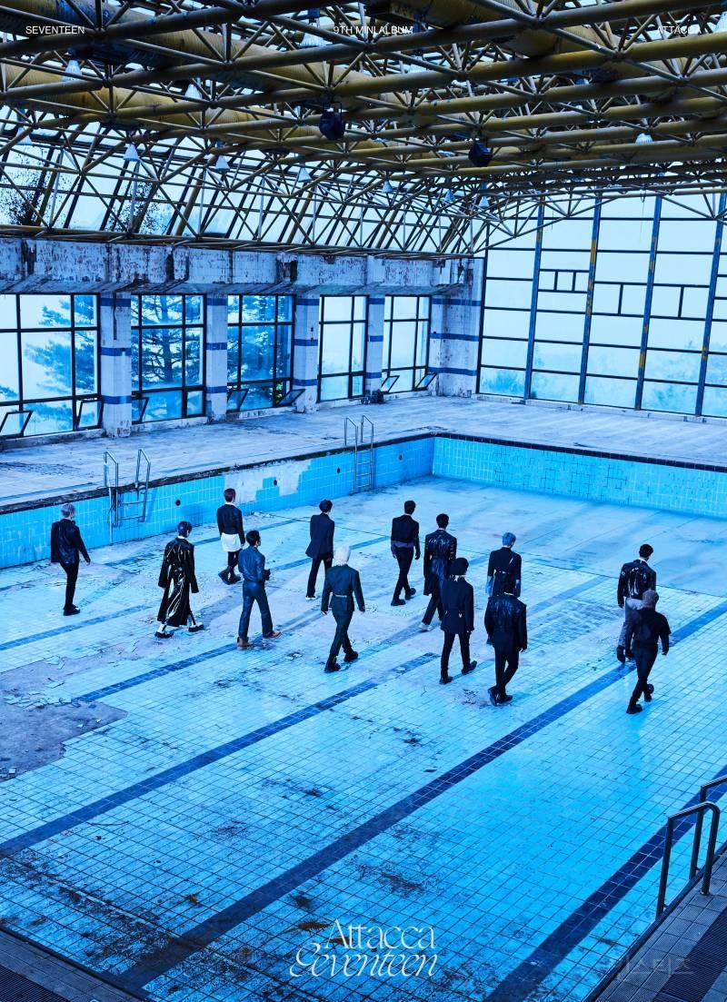 고성폐리조트 수영장에서 최근 자켓 촬영한 아이돌 | 인스티즈