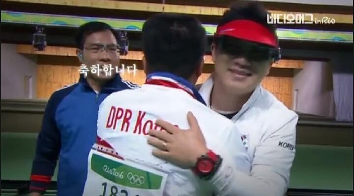 사격 동메달 북한선수 기자회견 ㄷㄷ   인스티즈