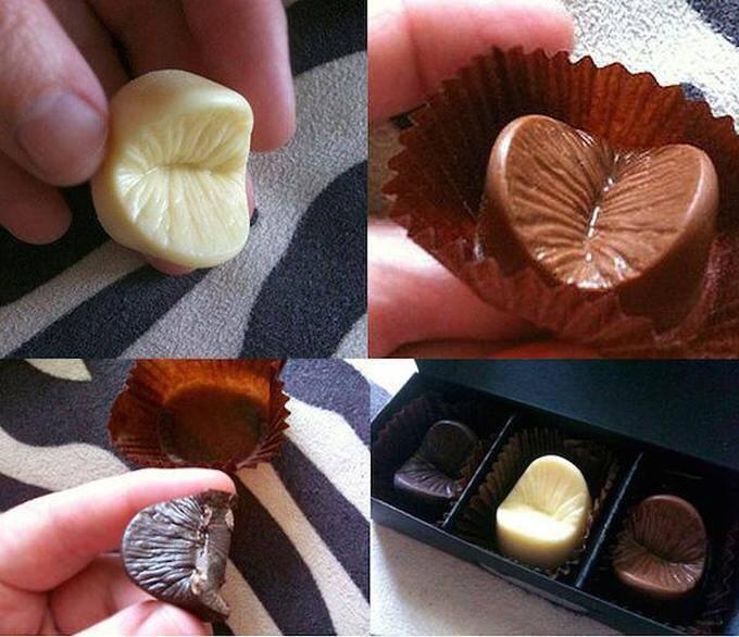 실제로 있는 x구멍 모양 초콜렛.jpg | 인스티즈