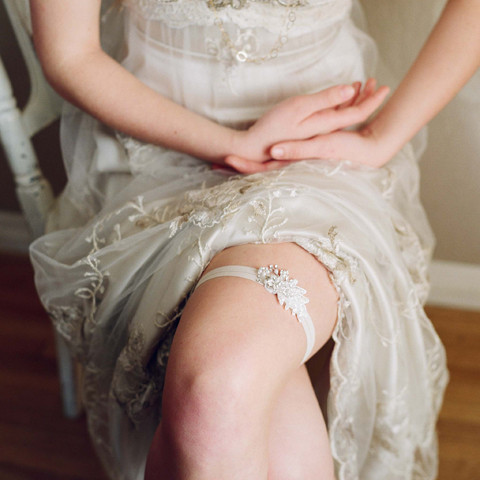 Подвязка для невесты своими руками фото 7915