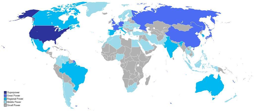 세계 국력 지도.jpg | 인스티즈