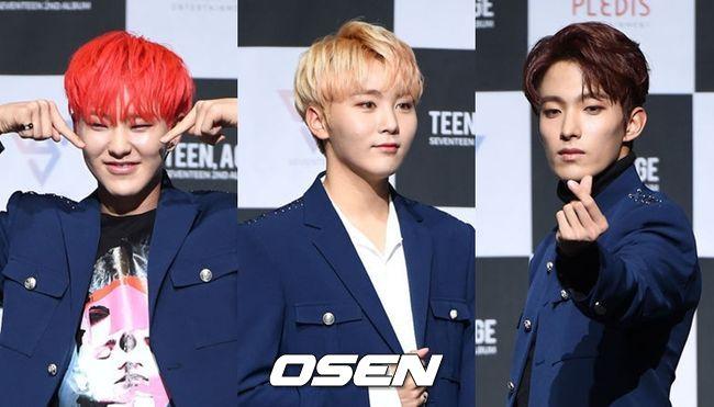 [단독] 세븐틴, 첫 스페셜 유닛 '부석순' 출격..3월 신곡발표 | 인스티즈