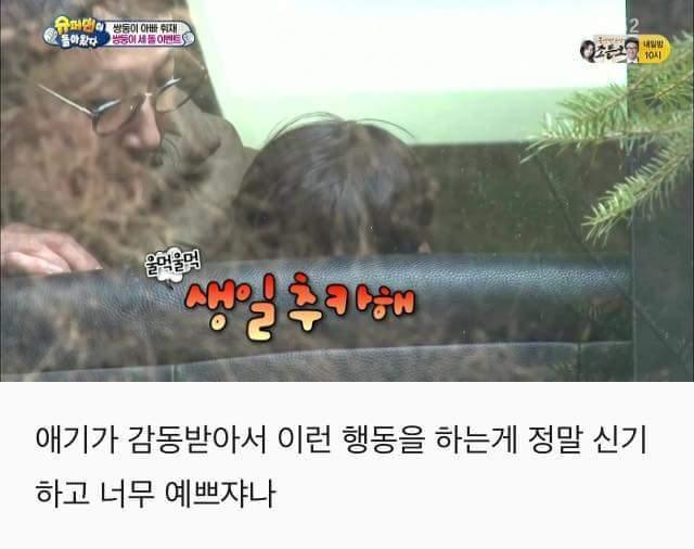 서준이를 위해 깜짝생일파티를 준비하는 서언이 (feat. 뭉클주의) | 인스티즈