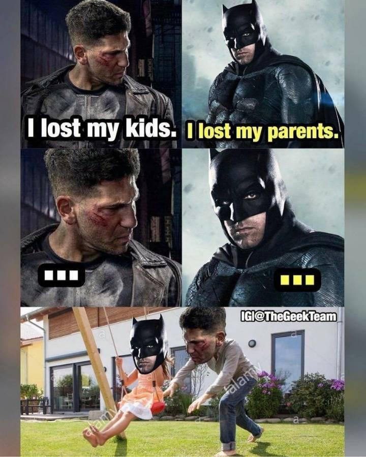 부모를 잃은 배트맨... | 인스티즈