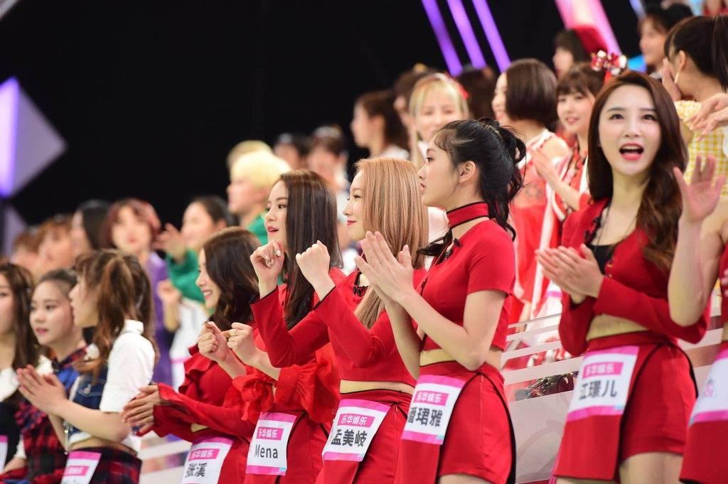중국에서 판권 사간 프로듀스101 녹화 현장...JPG | 인스티즈