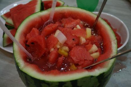 딸래미가 만들어준 수박 화채 | 인스티즈