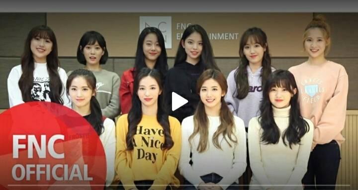 AOA 소속사 FNC에서 곧 데뷔시키는 체리블렛 단체사진   인스티즈