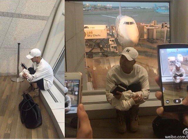 공항 내 아이돌 홈마 사진들의 진실(아이돌 시점).jpg | 인스티즈