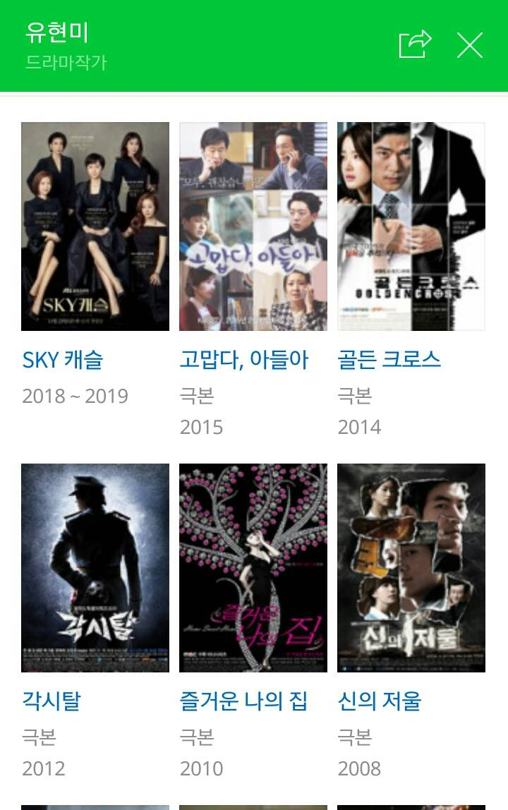 JTBC 스카이캐슬 작가님의 그간 작품들 | 인스티즈