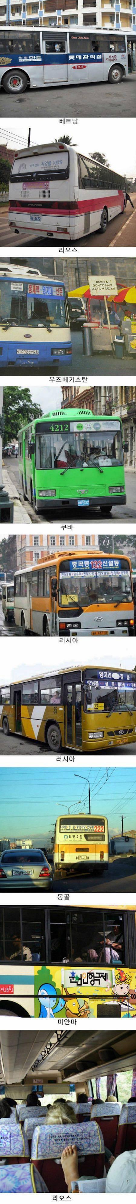 전 세계에 퍼져있는 대한민국 버스.jpg | 인스티즈
