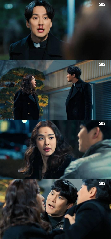 '열혈사제' 김남길X이하늬 분노의 박치기…'최고 시청률 21.7%' | 인스티즈