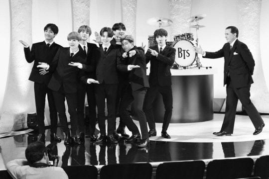 '비틀즈 재현' 방탄소년단, 美 '더 레이트 쇼 위드 스티븐 콜베어' 출연   인스티즈