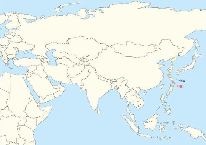 우리나라가 칠레처럼 길어진다면? | 인스티즈