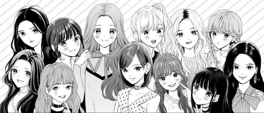 일본 만화가가 그린 아이즈원 멤버들 | 인스티즈