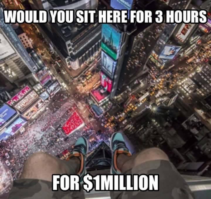 3시간 동안 앉아있고 10억 받기...jpg | 인스티즈