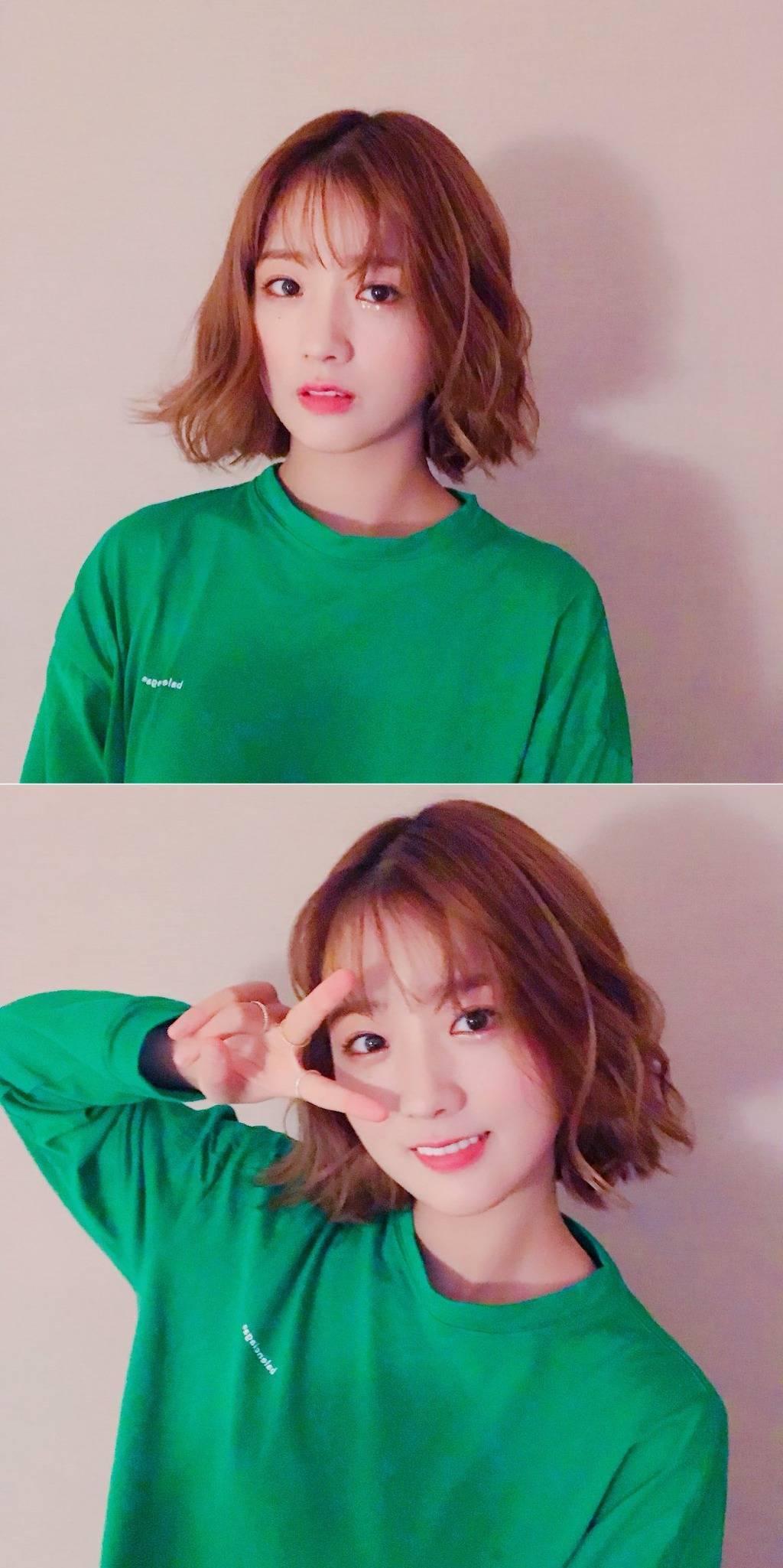 윤보미 헤어스타일 | 인스티즈