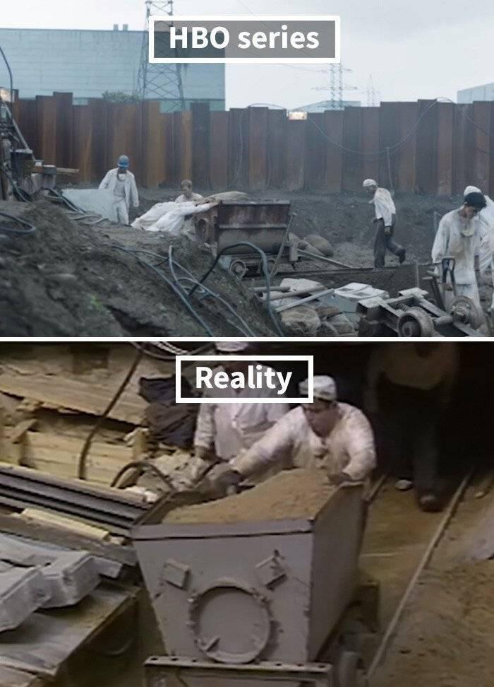 미드 체르노빌과 현실 체르노빌의 비교 .jpg | 인스티즈