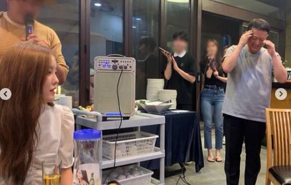 """'라디오스타' 티아라 효민, 12년째 함께한 '광수 사장님'…""""가끔은 밉지만, 사랑하고 존경합니다""""   인스티즈"""