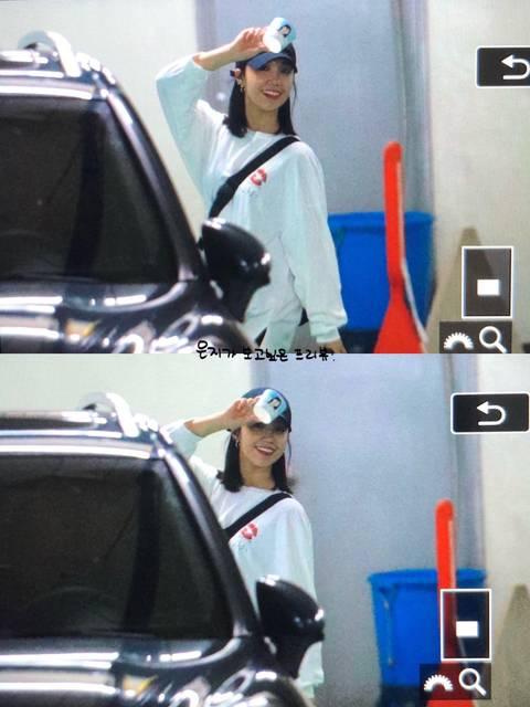 본인 생일 축하 컵홀더 들고 퇴근 하는 여자 아이돌.jpg | 인스티즈