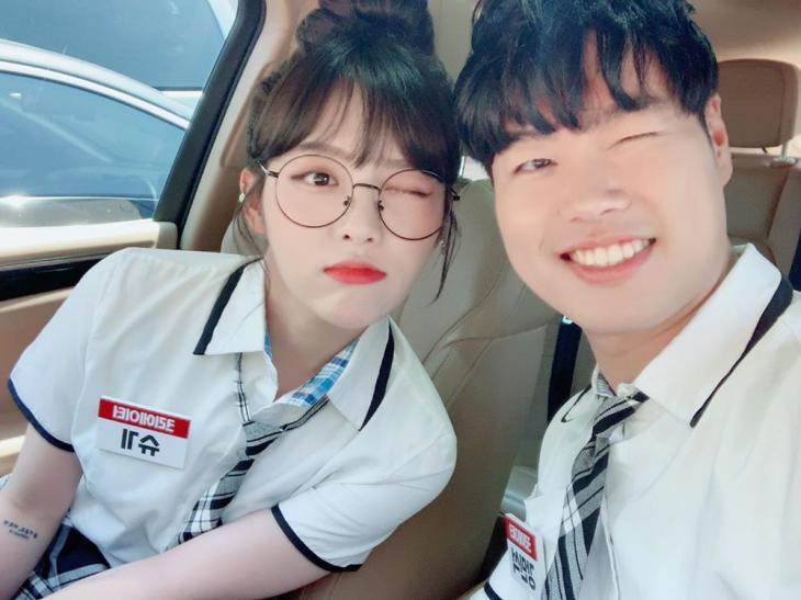 "BJ 슈기, 남자친구 보물섬 강민석과 달달 럽스타그램…""사랑해"" | 인스티즈"