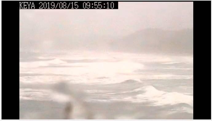후쿠오카 해변 CCTV 상황 | 인스티즈