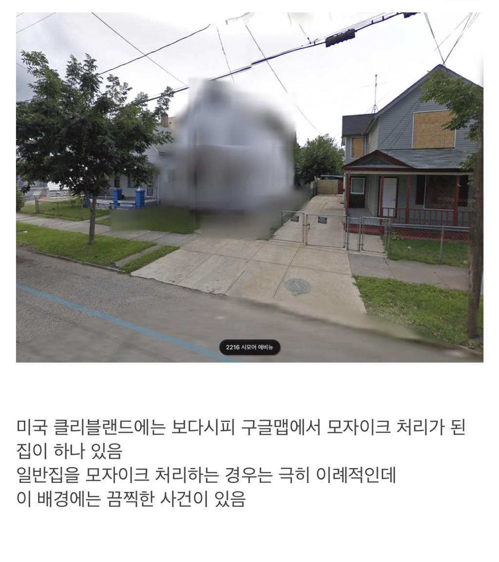 구글 지도에서 모자이크 처리된 집 | 인스티즈