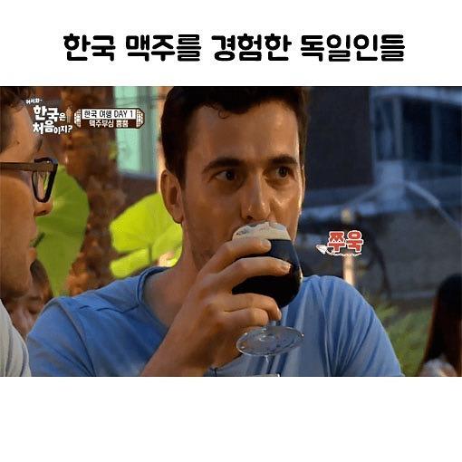 한국 맥주를 경험한 독일인들 | 인스티즈