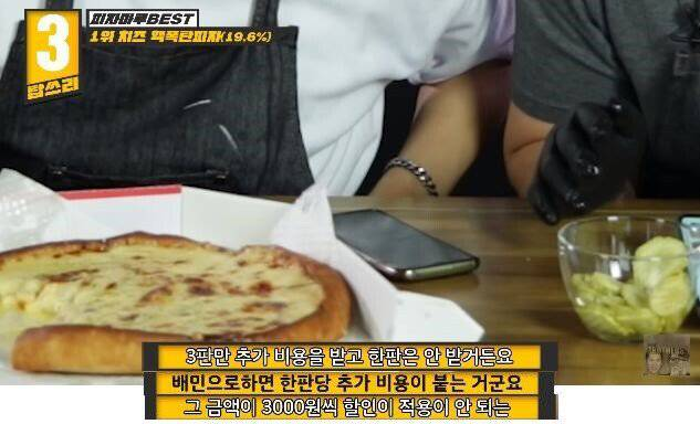 피자 한판에 배달료가 각3천원 | 인스티즈