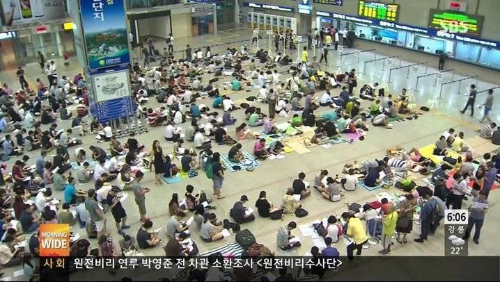 서울역에서 열린 골든벨.jpg | 인스티즈